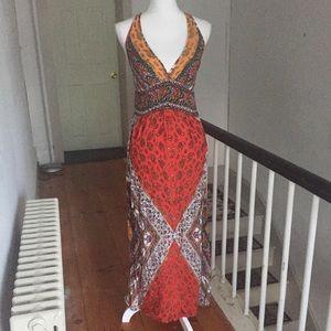 Angie Boho Maxi Dress